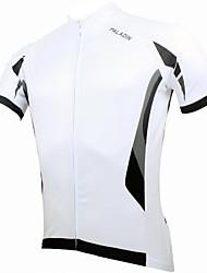 Недорогие -ILPALADINO Велокофты Муж. С короткими рукавами Велоспорт Джерси Верхняя часть Быстровысыхающий Ультрафиолетовая устойчивость Дышащий 100%