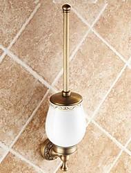 Недорогие -Античная латунь держатель для туалетной щетки