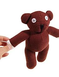 Недорогие -Симпатичные Мистер Бин Медведь Медведь Кукла Плюшевые рис Браун
