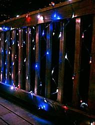 preiswerte -100 led net Licht 2m x 1,5 m Solarlicht Urlaub Partei Lampe