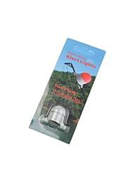 cheap -Night Fishing 3mm Rod Tip Clip on Fish Bite Alarm Alert Strike Light