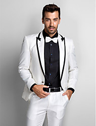 cheap -Tuxedos Standard Fit Slim Peak Single Breasted One-button Polyester