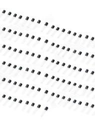 cheap -DIY Silicon Transistor Set (Black)(110 PCS)