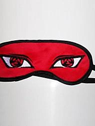 Maschera Ispirato da Naruto Hatake Kakashi Anime Accessori Cosplay Maschera Rosso Pile Uomo