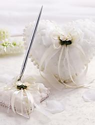 economico -collezione di temi classici con cerimonia di nozze in raso finto perla
