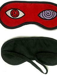 Mask Inspired by Naruto Hatake Kakashi Anime Cosplay Accessories Mask Red Polar Fleece Male