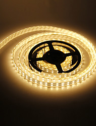 cheap -Z®ZDM Waterproof 5M 144W 600x5050SMD Warm White Light LED Strip Lamp (DC 12V)