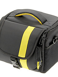 cheap -NEW Nylon Large Size SLR Camera Bag (Yellow, Red)