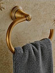 Недорогие -Vintage античный латунь отделка Ретро кольцо полотенца