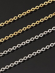cheap -Women's Fashion Chain Necklace Platinum Plated Gold Plated Chain Necklace Wedding Party Daily Casual Costume Jewelry