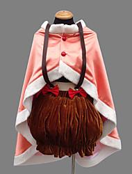 preiswerte -Inspiriert von Mahou Shoujo Madoka Magica Nagisa Hazuki Anime Cosplay Kostüme Cosplay Kostüme Patchwork Kleid Umhang Unterwäsche