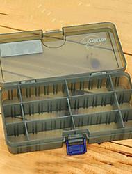 Недорогие -186 * 103 * 34 мм Army Green Рыбалка Box снасти Box