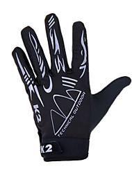 cheap -KORAMAN Sports Gloves Bike Gloves / Cycling Gloves Breathable Anti-skidding Full-finger Gloves Spandex Cycling / Bike Men's Women's Unisex