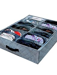 cheap -Carbon Fiber Oval Open Home Organization, 1pc Storage Boxes