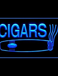 Cigars Cuban Production Advertising LED Light Sign
