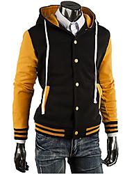 billige -Herre Chic & Moderne Hættetrøjer og trøjer - Farveblok
