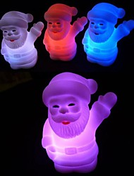 Coway Christmas Santa Claus Colorful LED Nightlight Holiday Products