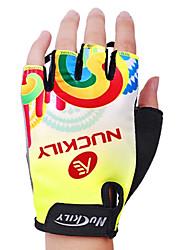 Nuckily Спортивные перчатки Перчатки для велосипедистов Пригодно для носки Износостойкий Защитный Ударопрочность Без пальцев Спандекс