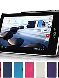 """pliant mince cuir stand Hard Cover Case Shell pour Acer Iconia une 7 """"de la tablette b1-740"""