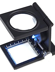 cheap -ZW-9005A Portable Folding 10X Fabric Checking Magnifier