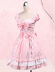 cheap -Sweet Lolita Dress Princess Women's One Piece Dress Cosplay Short Sleeves