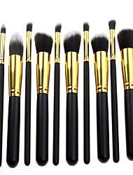 Недорогие -Новейшая про высокое качество 10 шт макияж кисти установить синтетических волос