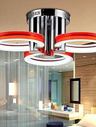 economico -Moderno/Contemporaneo Con LED Montaggio del flusso Luce ambientale Per Salotto Camera da letto Sala studio/Ufficio Bianca 90-240V
