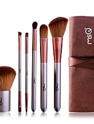 cheap -6 pcs cosmetic brush set makeup tools