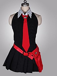 cheap -Inspired by Akame Ga Kill! Cosplay Anime Cosplay Costumes Cosplay Suits Patchwork Sleeveless Dress Gloves Belt Tie For Female
