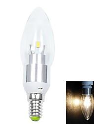 billige -varmt hvidt lys førte stearinlys pære (ac 85-265v) E14 3W