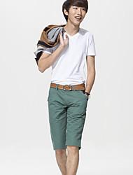 povoljno -Muškarci Chic & Moderna Kratke hlače Hlače Jednobojni