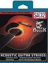 Недорогие -SA32 - Серебро Народная гитары