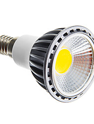 cheap -6W E14 E26/E27 LED Spotlight leds COB Dimmable Warm White Cold White 250-300lm 3000K AC 220-240V