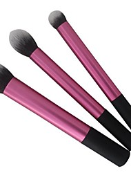 cheap -3 Makeup Brushes Set Synthetic Hair Face / Lip / Eye Sedona Cosmetic Beauty Care Makeup for Face