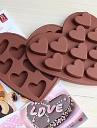economico -figura di amore 10 piccolo cuore stampi torta al cioccolato ghiaccio vassoio di ghiaccio