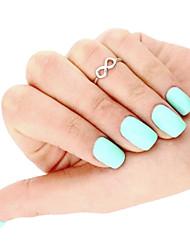 economico -Anello del dito del piede Infinito Originale, Europeo, Stile semplice Per donna Oro / Argento Gioielli per corpo Per Quotidiano / Casual