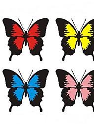 adesivi per auto moda farfalla e vinci