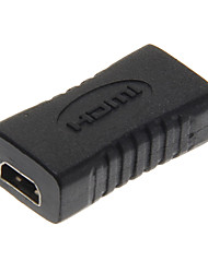 cheap -High Speed Micro HDMI Female to Micro HDMI Female Black Adapter