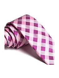 abordables -Mince Cravates British Fashion Loisirs 5 cm d'affaires les liens des hommes