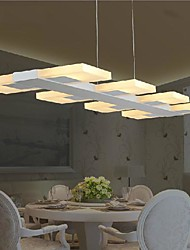 billige -LightMyself™ 8-Light Vedhæng Lys Baggrundsbelysning - Ministil, LED, 110-120V / 220-240V, Varm Hvid / Kold Hvid, LED lyskilde inkluderet