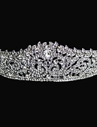 Mulheres Menina das Flores Liga Capacete-Casamento Tiaras