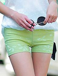 economico -Per donna A vita medio-alta Sensuale Elasticizzato Pantaloncini Pantaloni Primavera Estate Autunno