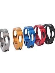 お買い得  -シートポストクランプ マウンテンバイク サイクリング アルミニウム合金 - シルバー / レッド / ブルー