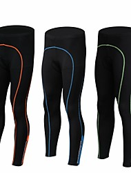 cheap -Men's Bike Pants / Trousers / Tights / Bottoms Quick Dry, Breathable Spandex, Polyamide Black / Green / Black / Blue / Black / Orange