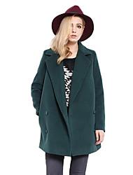 povoljno -Žene Ulični šik Haljina - Vintage Style, Jednobojni
