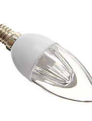 E14 LED Kerzen-Glühbirnen 10 SMD 3528 140-160 lm Kühles Weiß 5000-6500 K AC 220-240 V