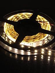 Недорогие -двойной ряд 600x5050 SMD 144w 6000lm теплый белый свет Светодиодные полосы света (5-метровый / DC 12V)