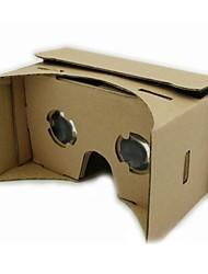 realidad virtual cartón geekergo bricolaje google cartón gafas 3D para dispositivo Android
