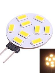 cheap -G4 1.2W 350LM 3200K 9x5730 Warm White LED Light Bulb(DC 10-30V)
