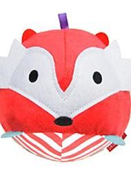 Недорогие -погремушка форма лиса ребенок шаровые мягкого хлопка игрушки